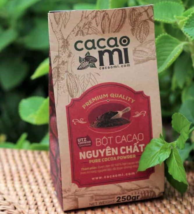 CacaoMi đang là thương hiệu cacao tốt nhất hiện nay